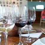Wine tasting with food pairing.