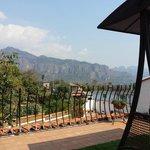 """vista desde el """"roof garden"""""""