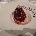 Crumble de poire et chocolat