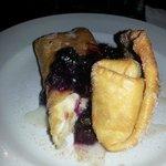 Fried Cheesecake.   yum!