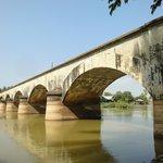 鉄道跡のメガネ橋
