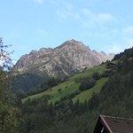 Una delle montagne dei dintorni