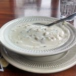 Excellent clam chowder