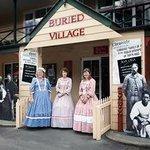 Buried Village of Te Wairoa Foto