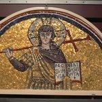 Re-creation of Ravenna mosaic, Byzantium, a temporary exhibit
