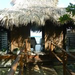 private cabana for massages on the island!