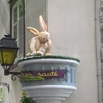 taken front across the street Lapin Saute
