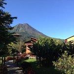 le volcan Arenal depuis le parc