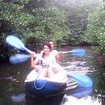 Kayaking at Mangrove set by Warung Paradise