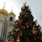 Храм св.Ал.Невского недалеко от сада.