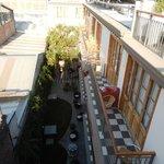 View from Top Deck Overlooking the Balconies