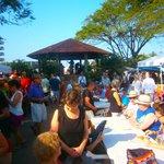 saturday farmers market in la plaza