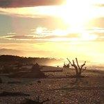 Collyer House beach sunset