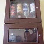 Liquor Decanter in the Suite