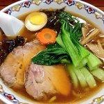 ラーメンとは違う伝統の『翡翠麺』を再現(*^_^*)