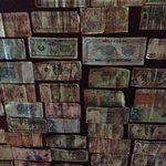 Cardrona Hotel Bar ceiling