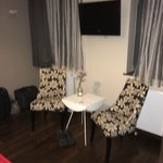 Seating area in Junior Suite
