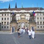 Prague Castle entry