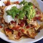 HQ Bar Meal - Nachos - such a deal $10!!!