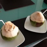 our coconut drinks