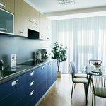 Апартаменты кухня
