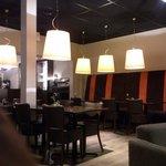 Salon et salle restaurant