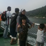 Taking ferry from Lumut to Pangkor Island