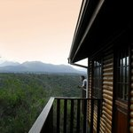 View over the Outeniqua mountains