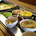 buffet de conserves
