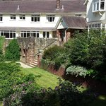 Heddon's gate - hotel & front garden