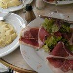 Ham & salad