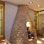 Representation of Moorcroft Pottery's historical bottle kiln