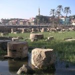 The ruins of the pillared hall of Rameses II