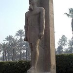 The Statue of Rameses II from the Middle Kingdom