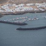 Harbour at La Graciosa