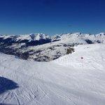 Hotel skis aux pieds aux Arcs 1800, il y en a pas d'autres!!
