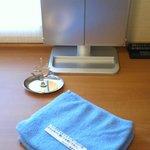 三面鏡・アクセサリスタンド・マッサージャー用タオル