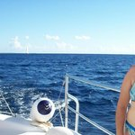 Catamaran a Saona