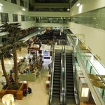 A view of the luxury shopping mall