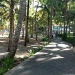 walkway between Hotels