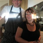 My first visit in 2012 - a day with James Martin!