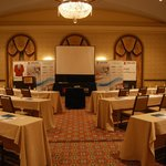 Meeting room set up in Gold Ballroom