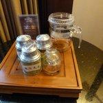 China tea in room!