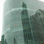 Вид на Молодежный центр (12й этаж - отель)
