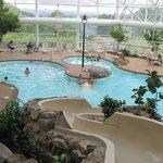 The nice indoor pool