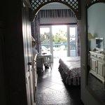 """Unser Zimmer im """"El Hierro"""", die verschiedenen Häuser haben eigene Namen"""