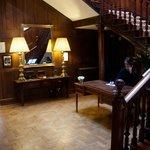 Hall way & reception