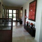 Hallway, reception area @ Melia Buenavista, Cayo Santa Maria.