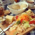 Emporium Tea Room's Cheese Platter - Best lunch ever!