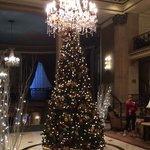 Roosevelt Lobby at Christmas